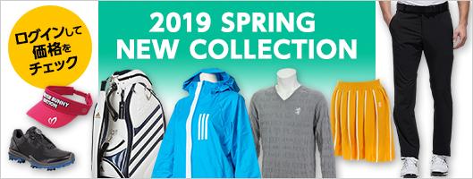 2019年春夏新作ゴルフウェア