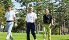 ベルト一体型ゴルフパンツ『MIDORI PF1』
