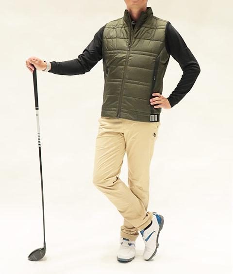 ゴルフ ウェア 冬 メンズ