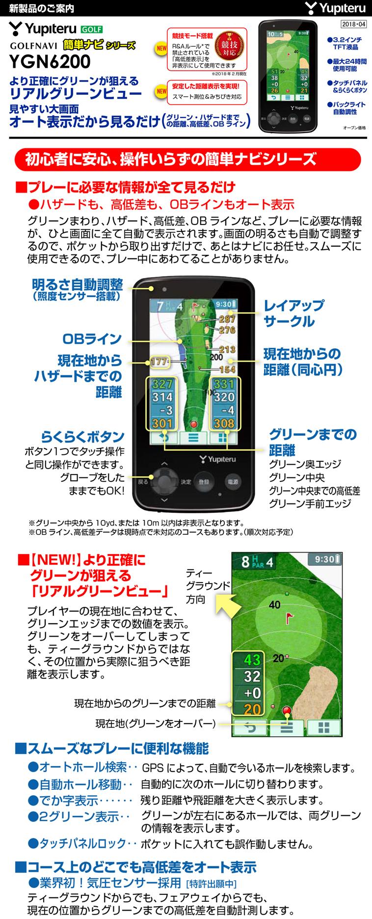 ゴルフナビ YGN6200_1