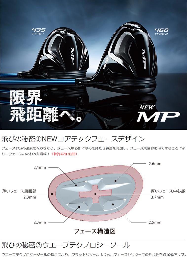 MP TYPE-1ドライバー MP TYPE-2ドライバー_1