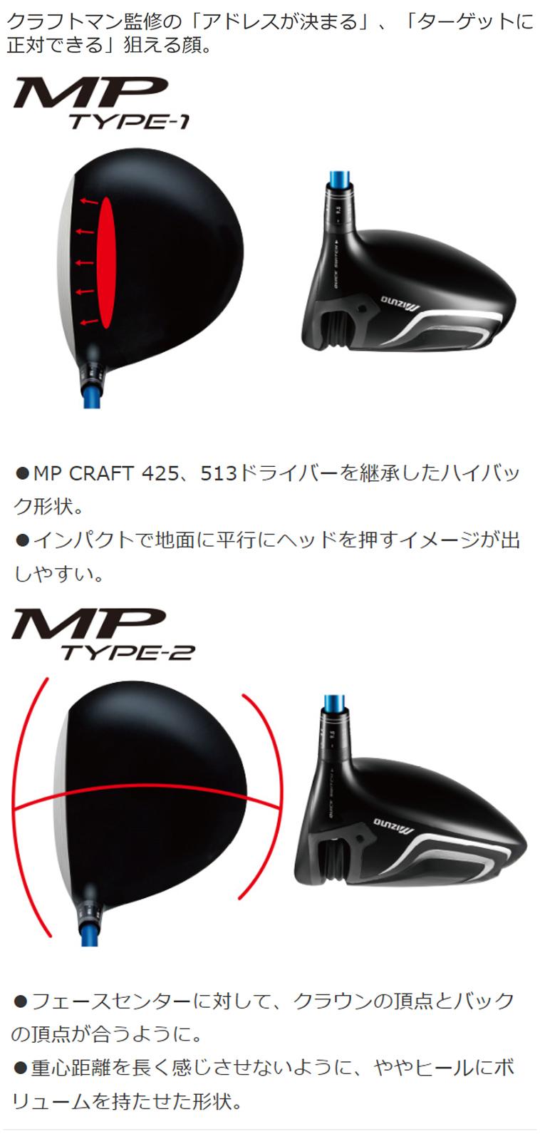 MP TYPE-1ドライバー MP TYPE-2ドライバー_3
