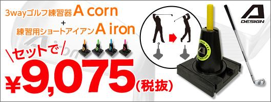 練習器具A corn+A iron セット