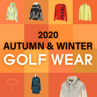 2020年秋冬ゴルフウェア